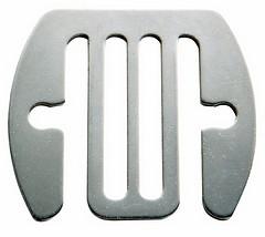 Bandverbinderplatte
