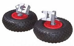 Stützräder für Schubkarre