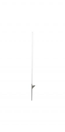 Kunststoffpfahl rund 108 cm m. Tritt
