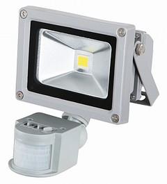 LED-Außenstrahler 10 W mit Bewegungsmelder