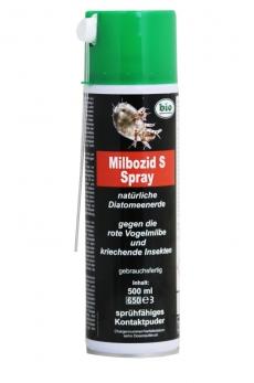Milbozid S Spray Kieselgur 500 ml