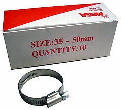Schlauchschelle NIRO Edelstahl 32 - 50 mm