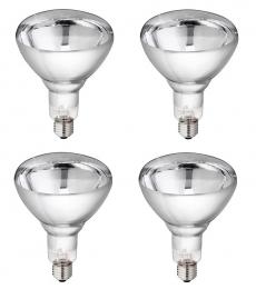 PHILIPS Hartglas Infrarotlampe 150 W klar