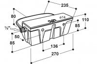 Schwimmer-Tränkebecken Modell 350