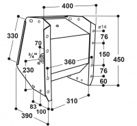 Ventil-Trogtränke Modell 500