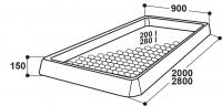 Klauenbad KB200