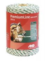 PremiumLine Weidezaunlitze weiß-grün