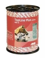 TopLine Plus Weidezaunlitze weiß-rot