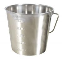 Edelstahleimer 12,3 Liter