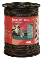 Premium Plus Weidezaunband 200 m x 20 mm