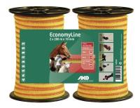 EconomyLine Weidezaunband Doppelpack 200 m x 10 mm | versch. Farben