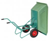 Zweiradkarre 400 ltr. Kuki Kippfunktion