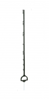 Vollkunststoffpfahl Steigbügelpfahl 158 cm grün