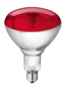 PHILIPS Hartglas Infrarotlampe 150 W