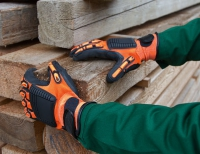 Keron Mechanik Handschuhe Brandy