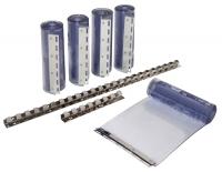 PVC Streifenvorhang Set