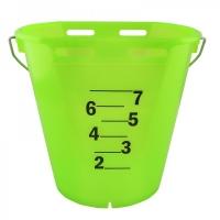 Tränkeeimer transparent 8 Liter   versch. Farben
