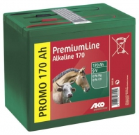 AKO Alkaline 9 Volt Trockenbatterie