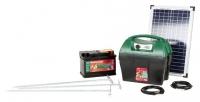 AKO Starterset AD 3000 digital inkl. 25 Watt Solarmodul