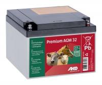 AKO 12V Premium AGM Batterie 32 Ah