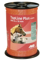 TopLine Plus Weidezaunband 200 m x 10 mm orange | gelb | blau