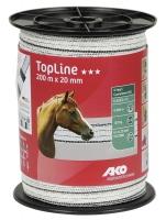 TopLine Plus Weidezaunband 200 m x 20 mm | versch. Farben