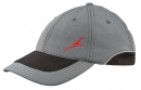 Softshell-Baseballcap Dynamic grau