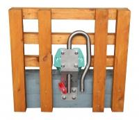 Tränkebecken mit Lockwasser-Mulde Modell 375-H mit Schalenheizung