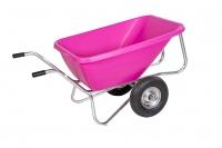 Zweiradkarre 220 l Big Ben Pink