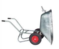 Zweiradkarre 200 l vollverzinkt kippbar