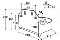 Schutzbügel für Modell 130P und 340