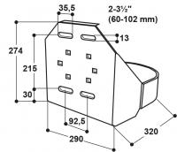 Schutzbügel für Modell 12P und 25R