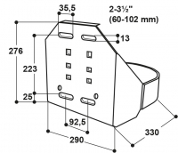 Schutzbügel für Modell 115 und 1200