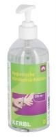 Hygienische Händedesinfektion 0,5 Liter Spenderflasche