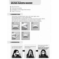 Mund-Nasenmaske 5 Stück