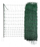 Geflügelnetz grün Doppelspitze nicht elektrifizierbar 106 cm