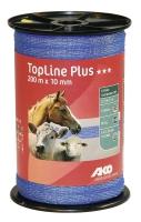 TopLine Plus Weidezaunband 200 m x 20 mm blau