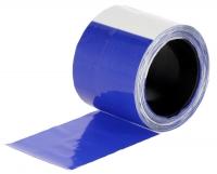 Herdenschutzband blau-weiß 80 mm x 100 m