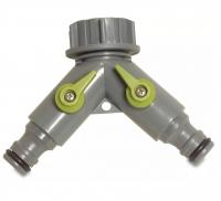Hydro-Fit Verteiler 3/4 IG 2 Klickstecker