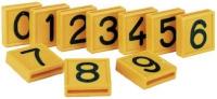 Halsmarkierungsnummer 0 - 9
