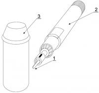 Ersatzmesser mit Katalysator für Gas-Schwanzkupiergerät
