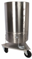 Kälbermilchmixer 90 Liter auf Rädern