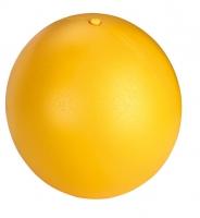 Antistressball Ø 30 cm Gelb