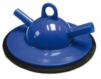 Kontrollmelkdeckel blau Ø 16 mm mit Dichtung